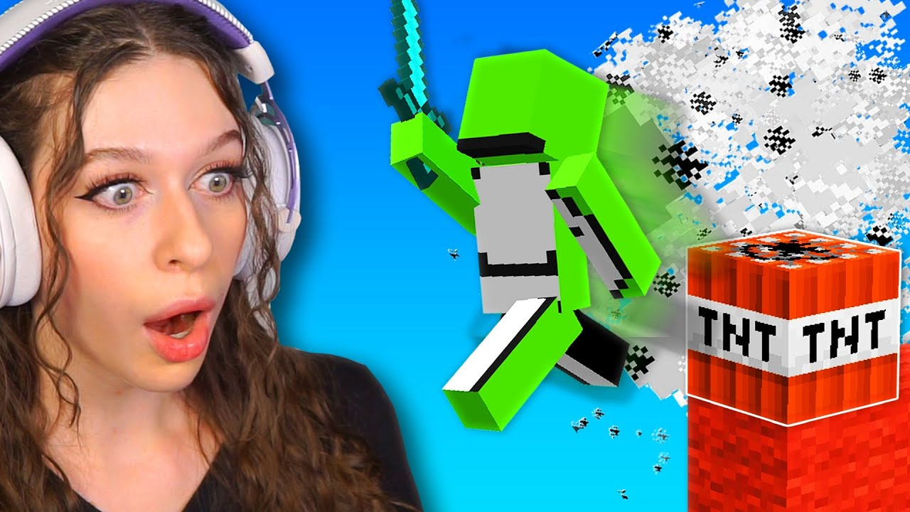 So I played Minecraft Bedwars with Dream...