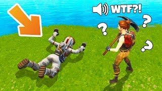 New FLYING Glitch | Flying on the Ground | Fortnite Troll, WTF & Funny Moments #12