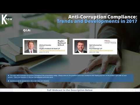 Anti-Corruption Compliance
