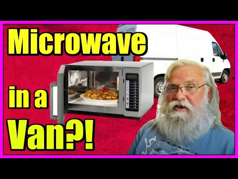 You Can Have a Microwave in a Van! TimeSaver It's Easier Than You Think to Have a Microwave in a Van