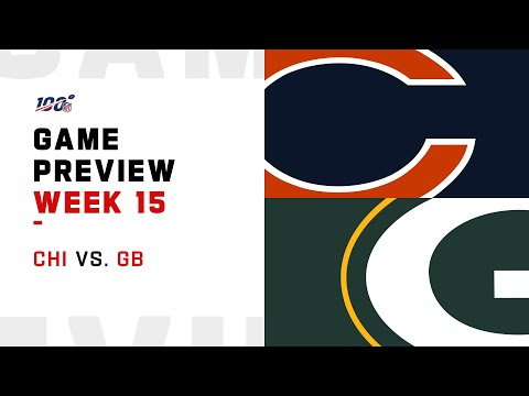 Chicago Bears vs Green Bay Packers Week 15 NFL Game Preview