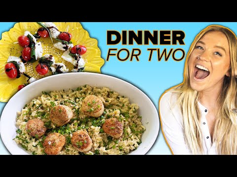 I Made A Romantic Dinner In 15 Minutes • Tasty