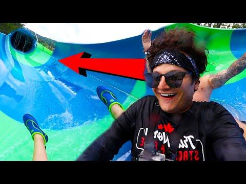 اخطر زحليقة مائية | Dangerous Waterslide Game