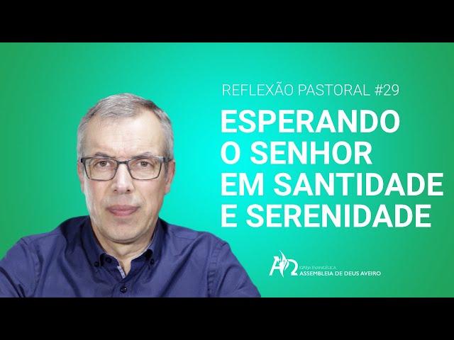 Reflexão Pastoral #29