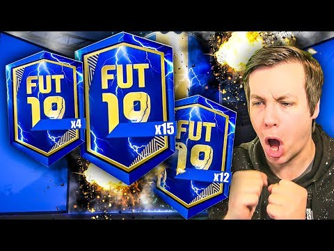 THIS IS WHAT I GOT OPENING EVERY SINGLE PROMO PACK AVAILABLE... - FIFA 19 TOTS PACK OPENING
