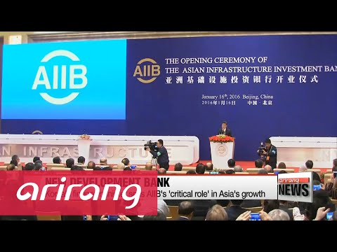 China-led Asian Infrastructure Investment Bank opens for business