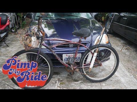 PIMP MY RIDE - The Under Bridge Troll Bike - Rod Holders