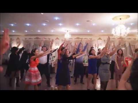 Танцевальный флешмоб на свадьбе - подарок молодоженам от гостей