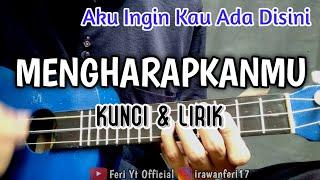 Tegar - MENGHARAPKANMU (Kunci & Lirik) cover kentrung ukulele by Feri Yt Official