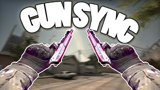 [CS:GO] GUN SYNC | When You Leave (Numa Numa) {REMAKE}