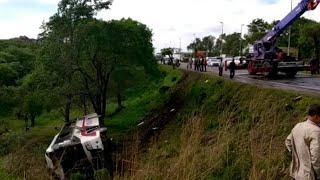 Крушение туристического автобуса в Уссурийске