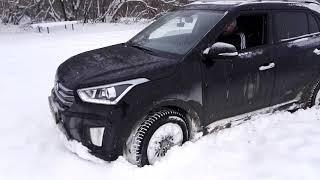 тест драйв Хендай Крета/ Hyundai Creta полный и передний привод