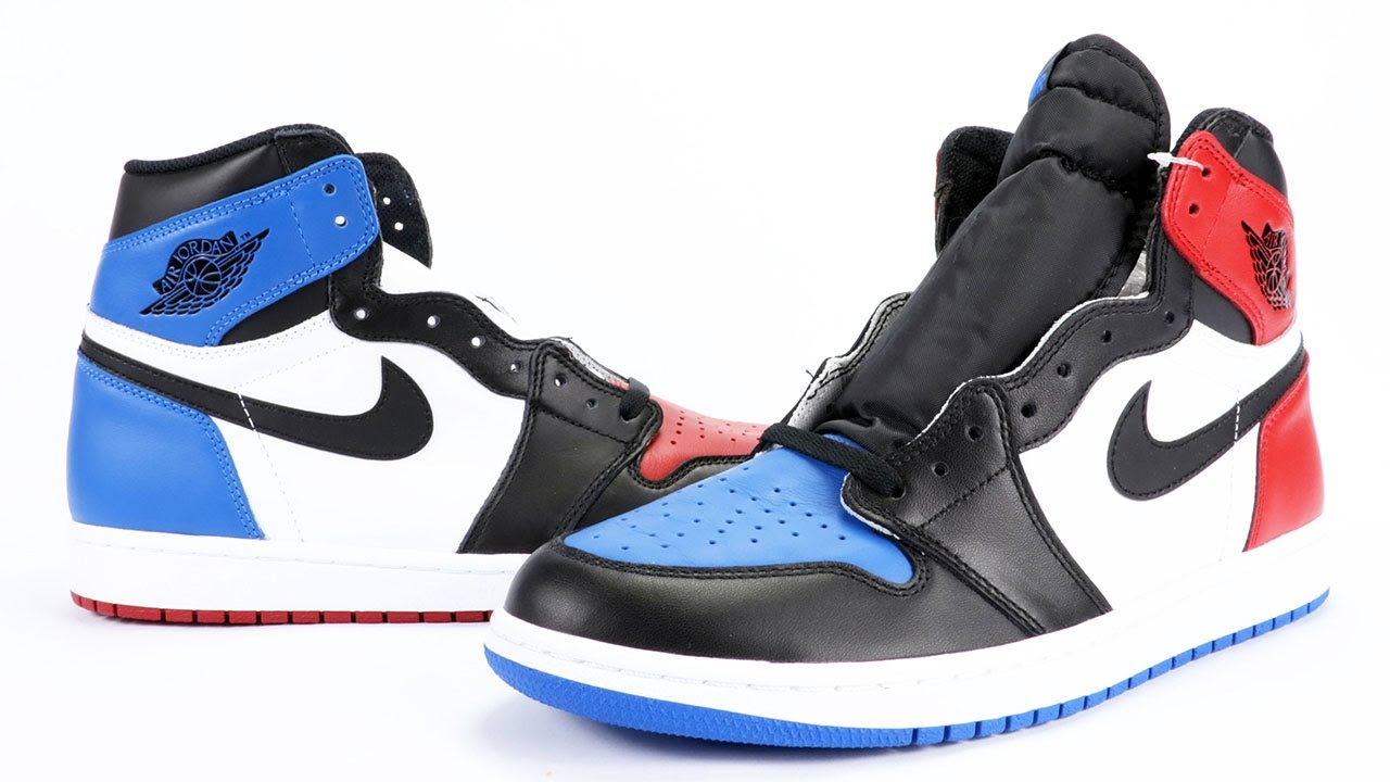 74338ec83b5b Air Jordan 1 Top 3 (Three) Review - YouTube