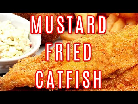 MUSTARD FRIED CATFISH RECIPE | HOW TO MAKE MUSTARD FRIED CATFISH