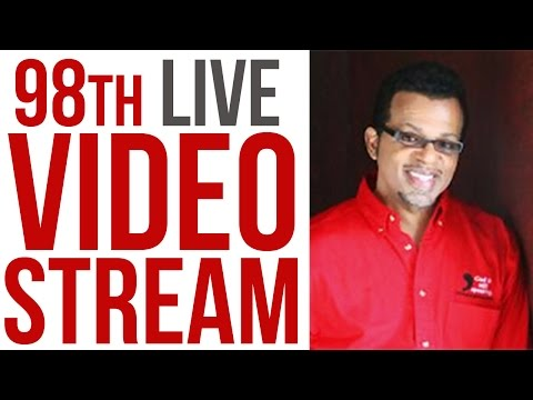 98th Live Stream with Carlton Pearson - Deliverance From Homosexuality?