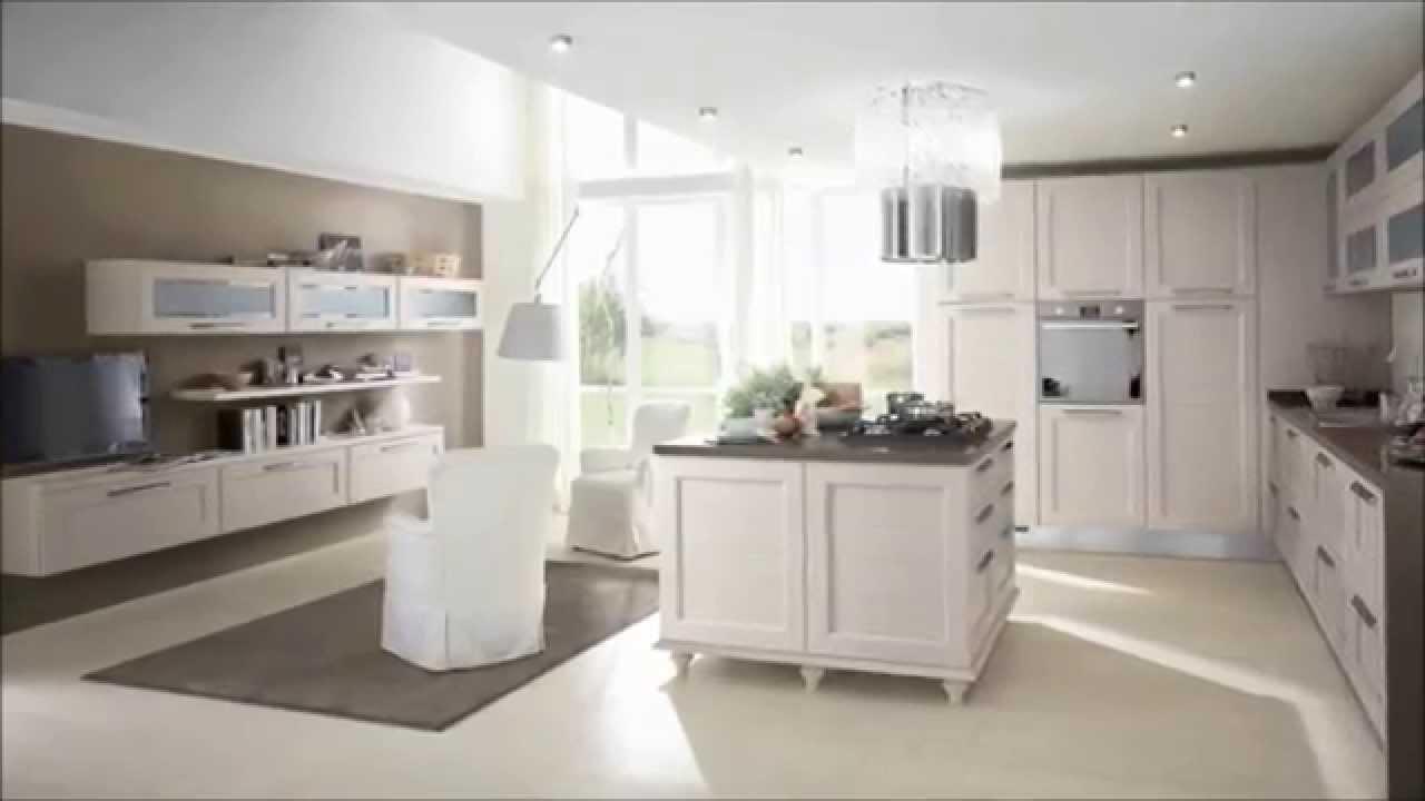Cucina Classica Mod. CLAUDIA | Cucine LUBE Torino - YouTube
