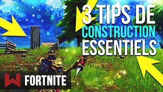 BUILD LIKE A PRO: 3 SECRET TIPS Fortnite Battle Royale