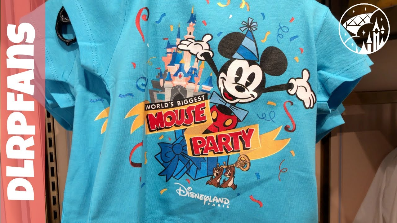 Mickeys 90th Birthday Merchandise At Disneyland Paris