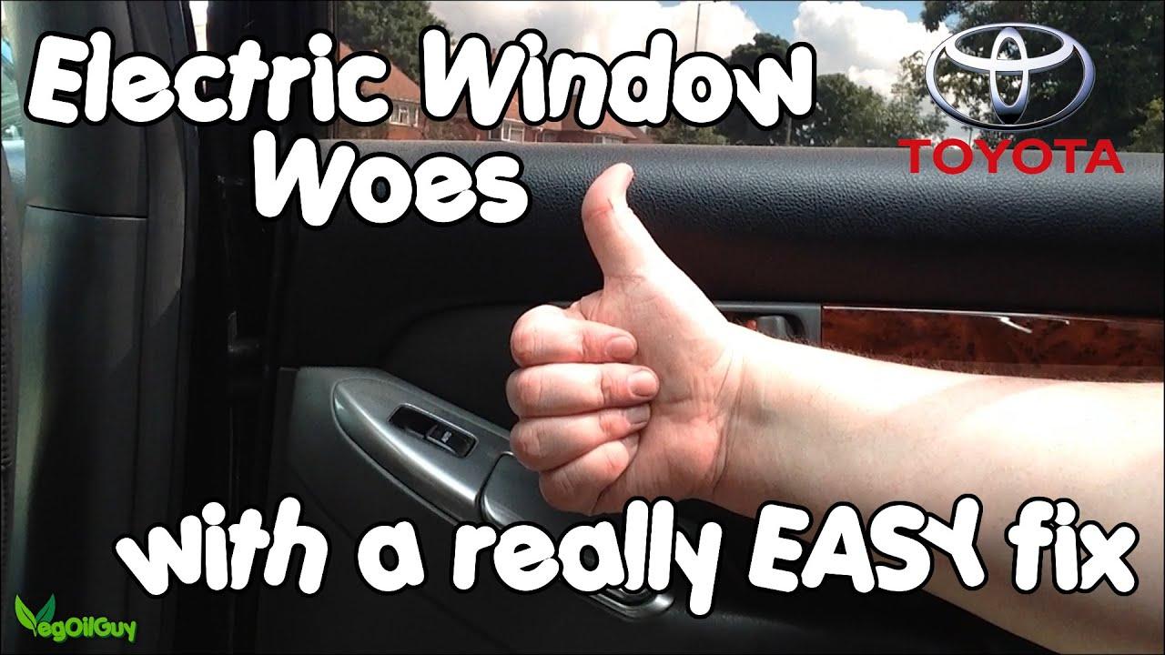 Toyota Landcruiser Electric Window Easy Fix By Vegoilguy Youtube Fuse Wiring Diagram N S Passenger Solved Fixya