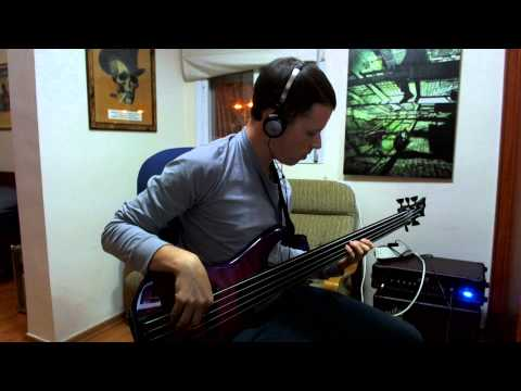 Porcupine Tree - Hatesong (Bass Cover)