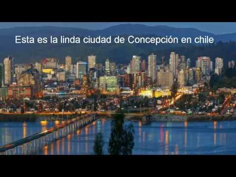 Esta es la linda y tranquila ciudad de Concepción en chile