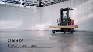 Toyota-Raymond 7310 4-D Reach Forklift – Versatile, Productive, Space Saver