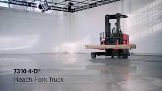 Raymond 7310 4-D Reach Forklift – Versatile, Productive, Space Saver