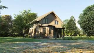 видео Проект дома КД 43