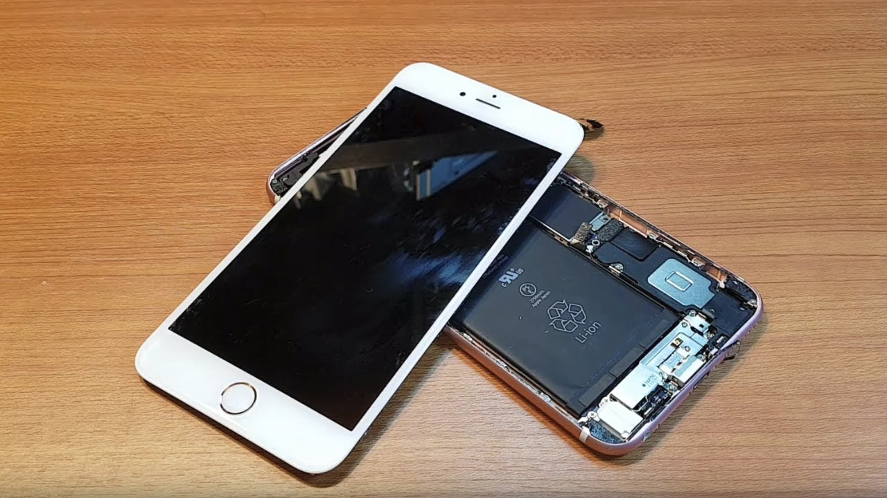 Fix Smashed Iphone  Screen