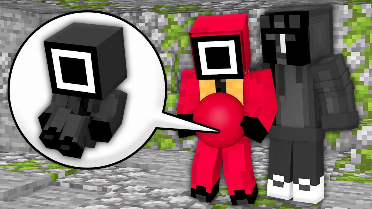 Monster School: Squid Game Baby Born Black Mask Man Family Challenge Sad Story - Minecraft Animation
