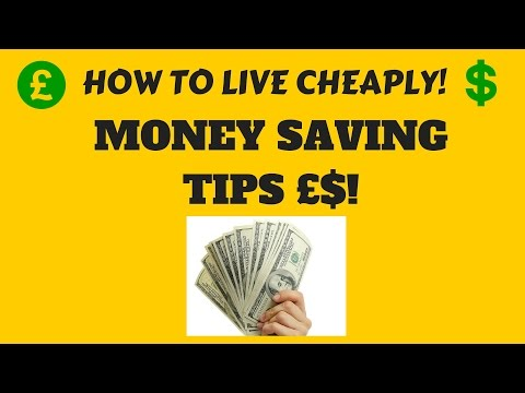 HOW TO LIVE CHEAPLY | MONEY SAVING TIPS