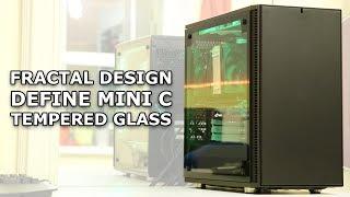 Fractal Design Define Mini C Tempered Glass Edition (mATX) - Air-cooled Build