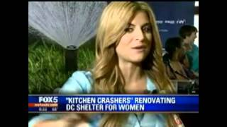 "Fox5 ""kitchen Crashers"" Renovating N Street Village Night Shelter Kitchen"