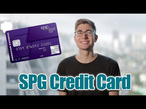 Credit Card Review: SPG - Starwood Preferred Guest Credit Card by American Express (BAD DEAL)