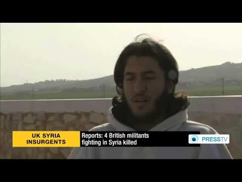 4 English 'jihadist' gangsters fighting in Syria killed by Syrian Arab Army