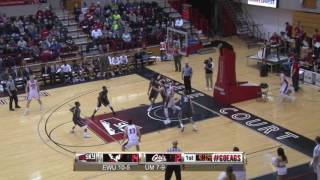 Highlights of Eastern Men's Basketball game against Montana ( Jan. 7).