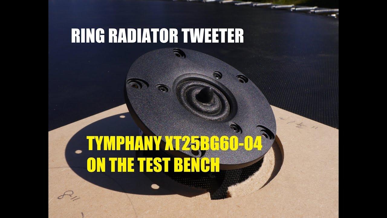 Peerless by Tymphany XT25SC90-04 1 Dual Ring Radiator Tweeter