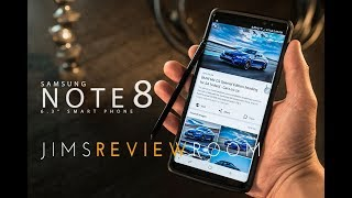 Samsung Note 8 Smartphone - REVIEW