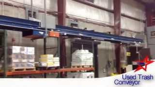 Used Trash Conveyor: Convey Debris, Cartons, Paper To Baler (series 2)