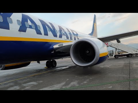 [TRIPREPORT] Ryanair's Inaugural Flight To Armenia Including Water Salute!
