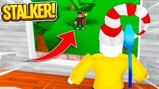 I Caught A Stalker Breaking Into My House.. (Roblox)