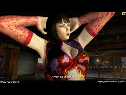 RPCS3 PS3 Emulator - Tekken 6 Ingame! VULKAN (01ffaab + Fbo Fixes) LLVM