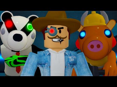 ПИГГИ с НОВЫМИ Скинами! Кид в Piggy Roblox с Мистером Пи. Секрет на Заводе в 12 Главе в роблоксе