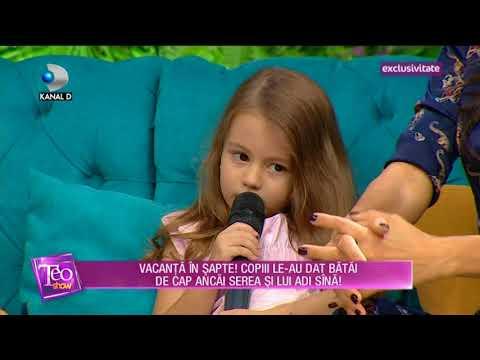 Teo Show (18.09.2017) - Anca Serea si Adi Sina, vacanta in 7 cu copiii! Partea III