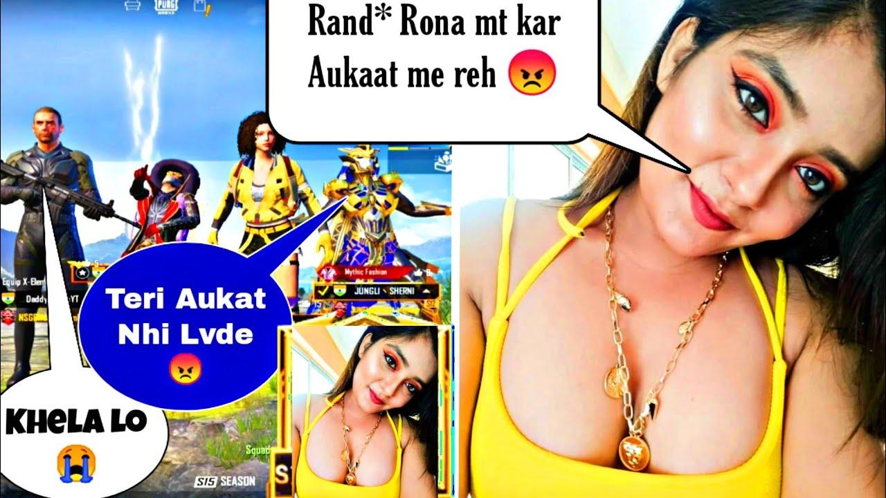 😭 Random Hot Rich & Toxic Girl call me Noob and I challenge 1v3 Tdm - Pubg Mobile b| Daddy Rambo