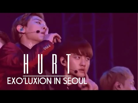 #11 Exo - Hurt (The Exo'luxion In Seoul) (DVD)