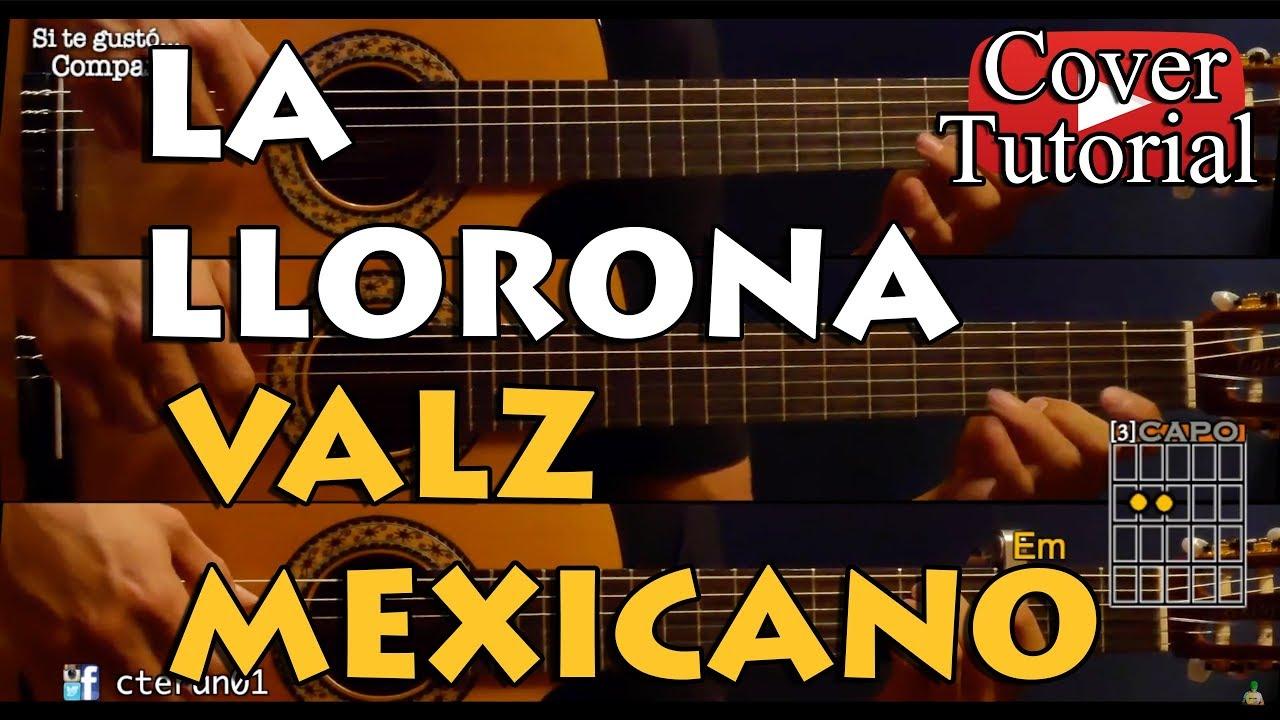 La Llorona - Vals Mexicano - Angela Aguilar Cover/Tutorial Guitarra #1