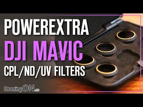 DroningON | DJI Mavic Pro PowerExtra ND/CPL/UV Filter Review & Tutorial
