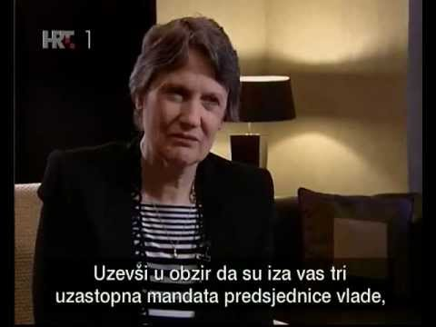 Interview with UNDP Administrator Helen Clark in Croatia