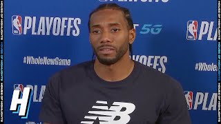 Kawhi Leonard Postgame Interview - Game 3 | Clippers vs Nuggets | September 7, 2020 NBA Playoffs